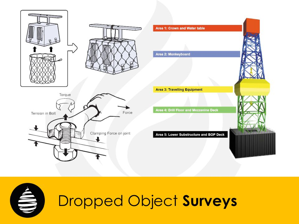 Dropped Object Surveys