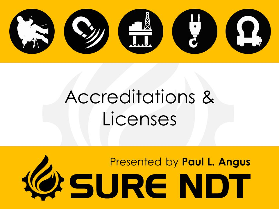 Accreditations & Licenses