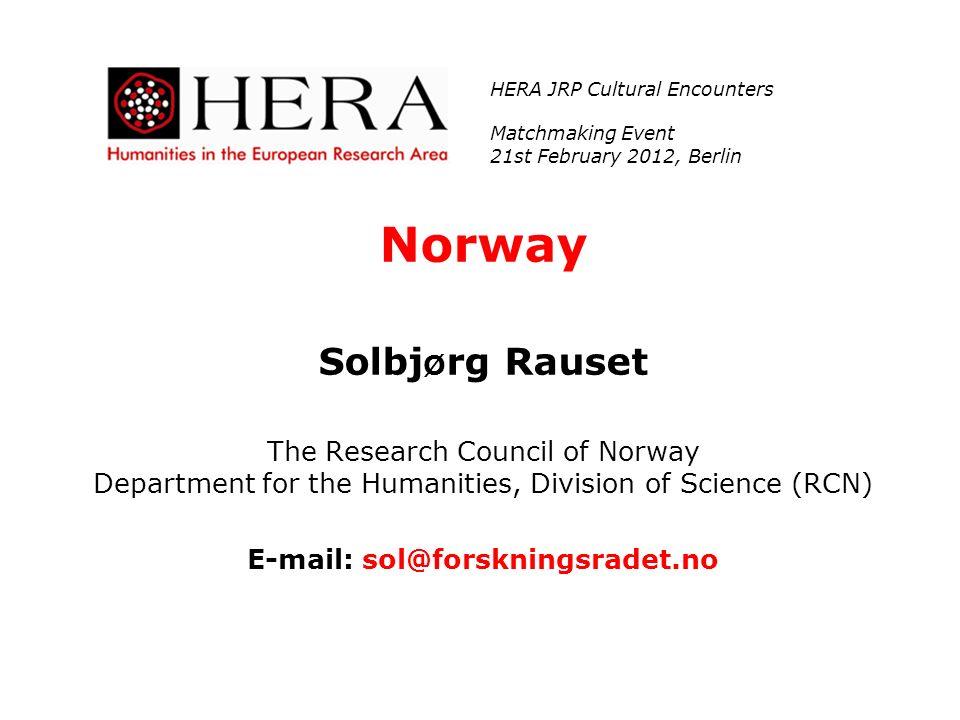 E-mail: sol@forskningsradet.no