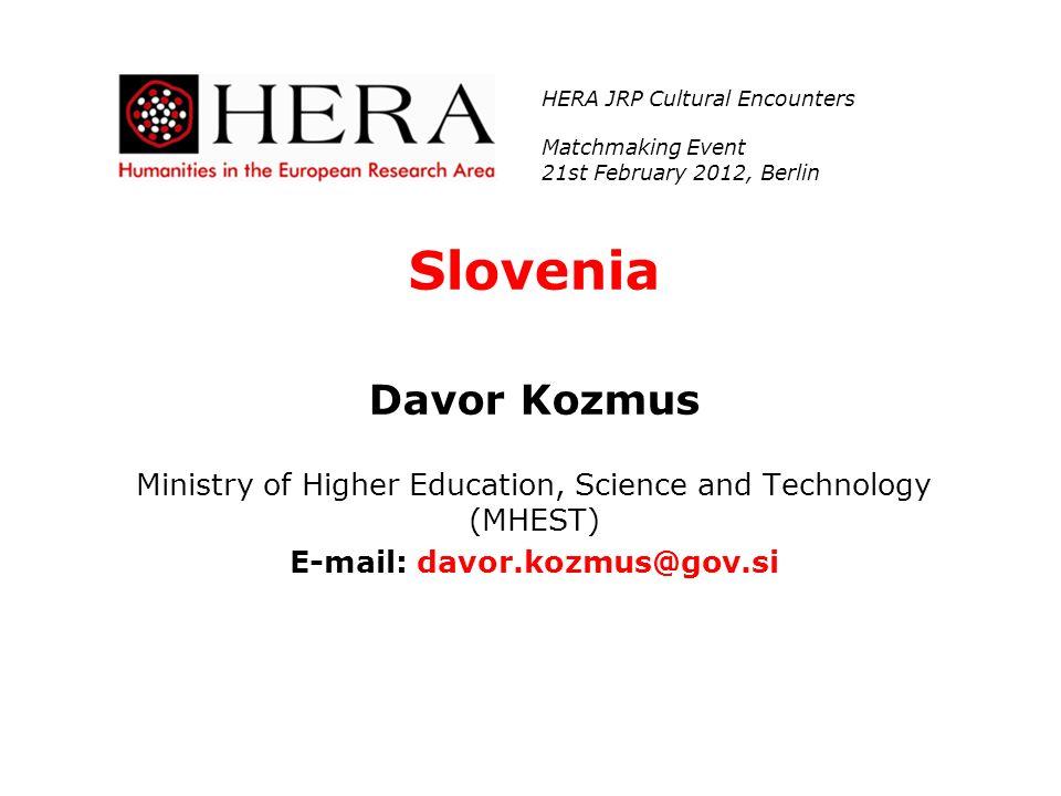 E-mail: davor.kozmus@gov.si