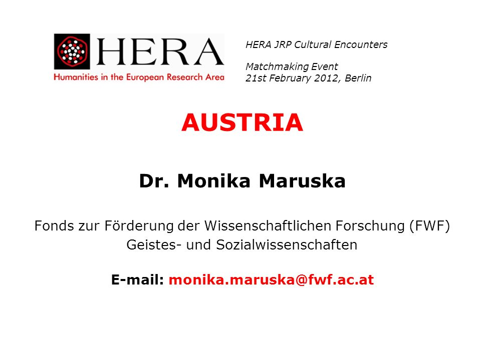 E-mail: monika.maruska@fwf.ac.at
