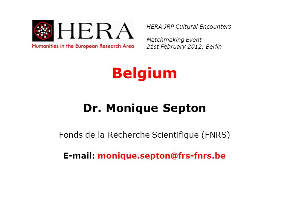 E-mail: monique.septon@frs-fnrs.be