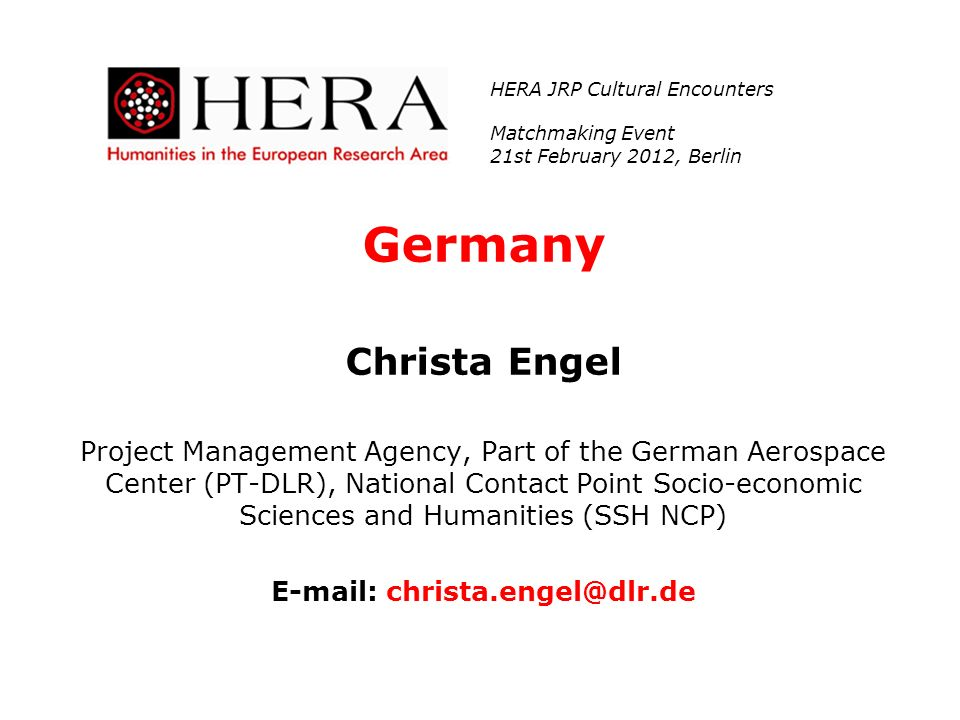 E-mail: christa.engel@dlr.de