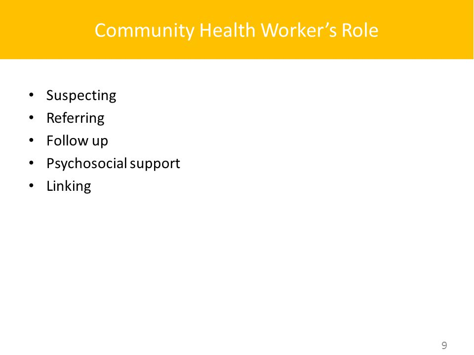 importance of community health workers Community health workers have been found to be the key members of the health team by assisting in all of these areas of concern the beauty of it all is the return investment in having a community that is empowered to get healthy and to stay healthy.