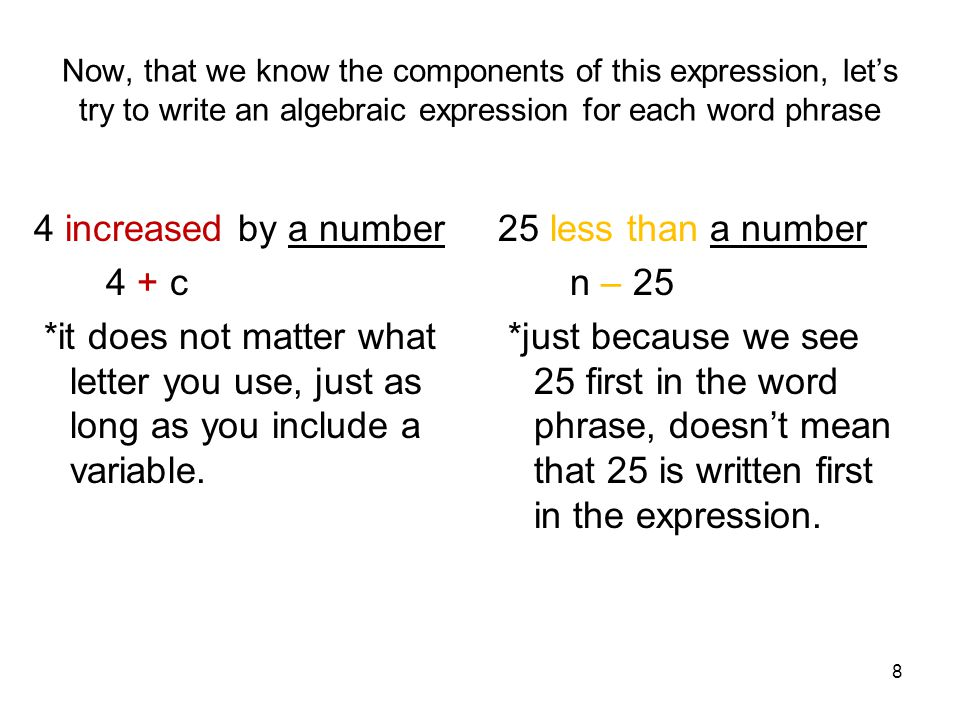 Write a word phrase for the algebraic expression 2t 932