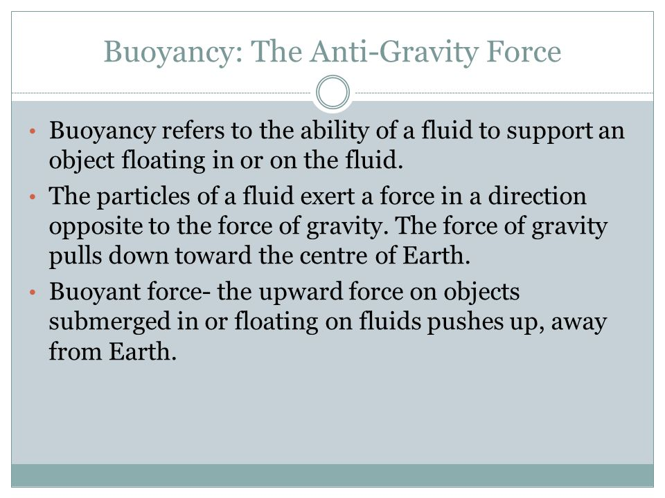 Density And Buoyancy Ppt Video Online Download