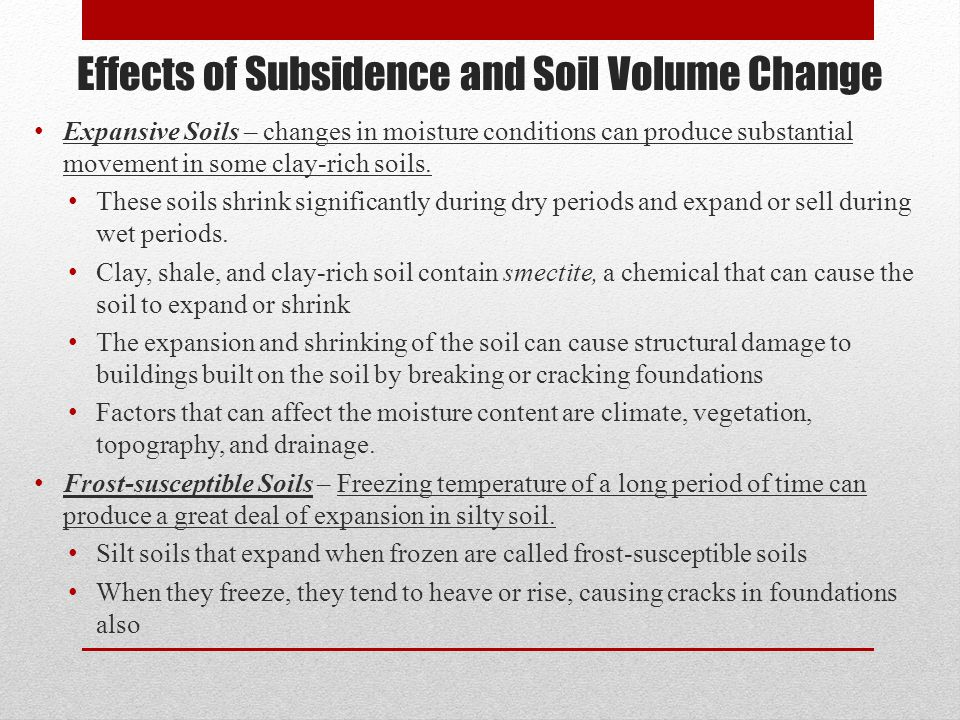 Subsidence and soils chapter ppt video online download for What is rich soil called