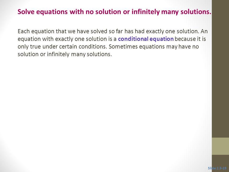 2 3 more on solving linear equations ppt download. Black Bedroom Furniture Sets. Home Design Ideas