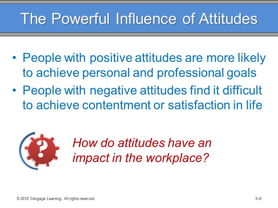 influence of media on learning attitude Media's use of propaganda to persuade people's attitude, beliefs and behaviors   this is true as explained by robert cialdini, an expert in influence, because   in selecting subjects for the case study, it became increasingly important to.
