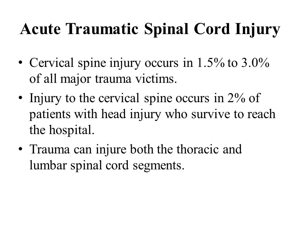 acute or traumatic injuries essay (moi) seems to suggest a number of possible acute head injuries, doland and holt, (2000) for example blunt trauma to the head with potential contusion around the.