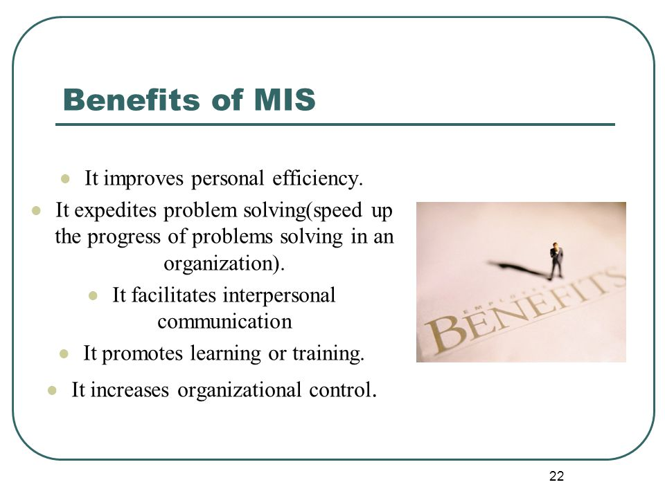 benefits of management information system in an organisation pdf