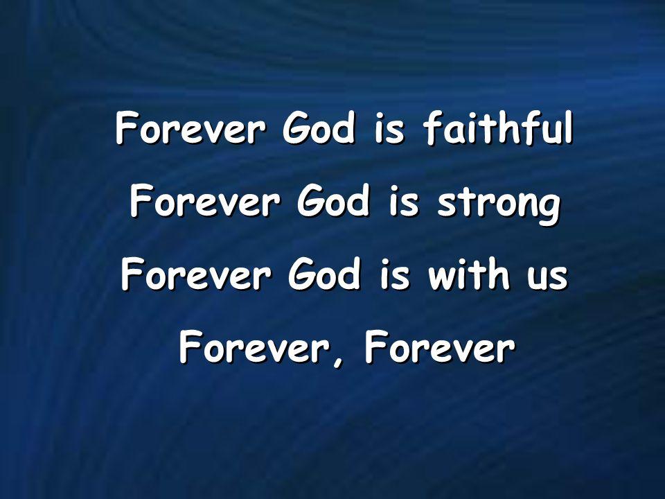 forever god is faithful chords pdf download