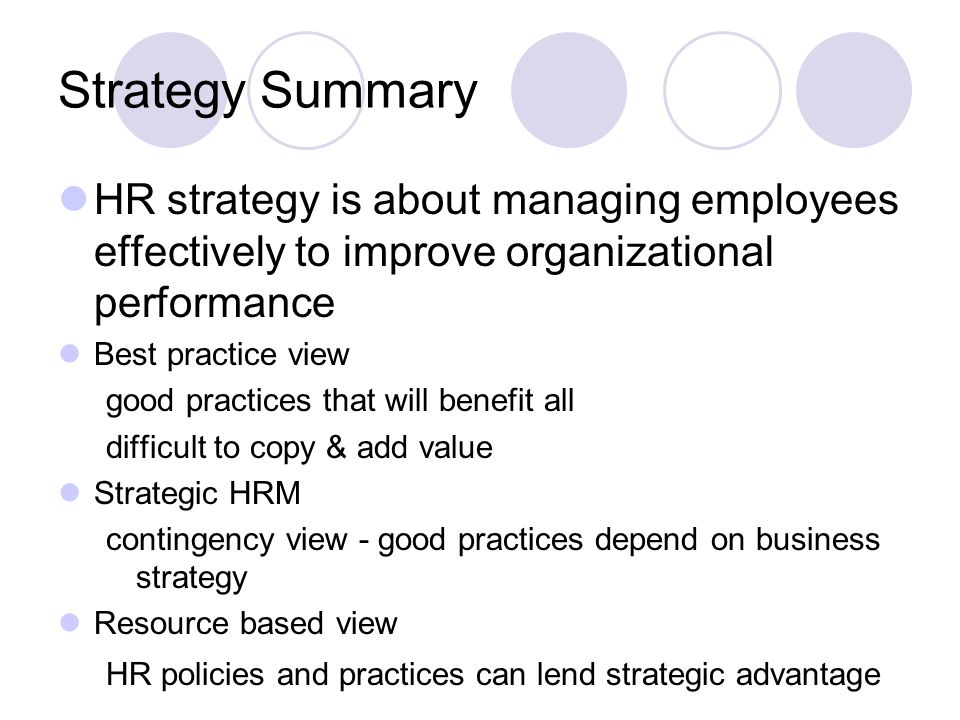 strategic hr practices and organizational performance Hrm practices on organisational performance within the financial services   importantly, in the strategy literature, the focal point of attention on this construct.