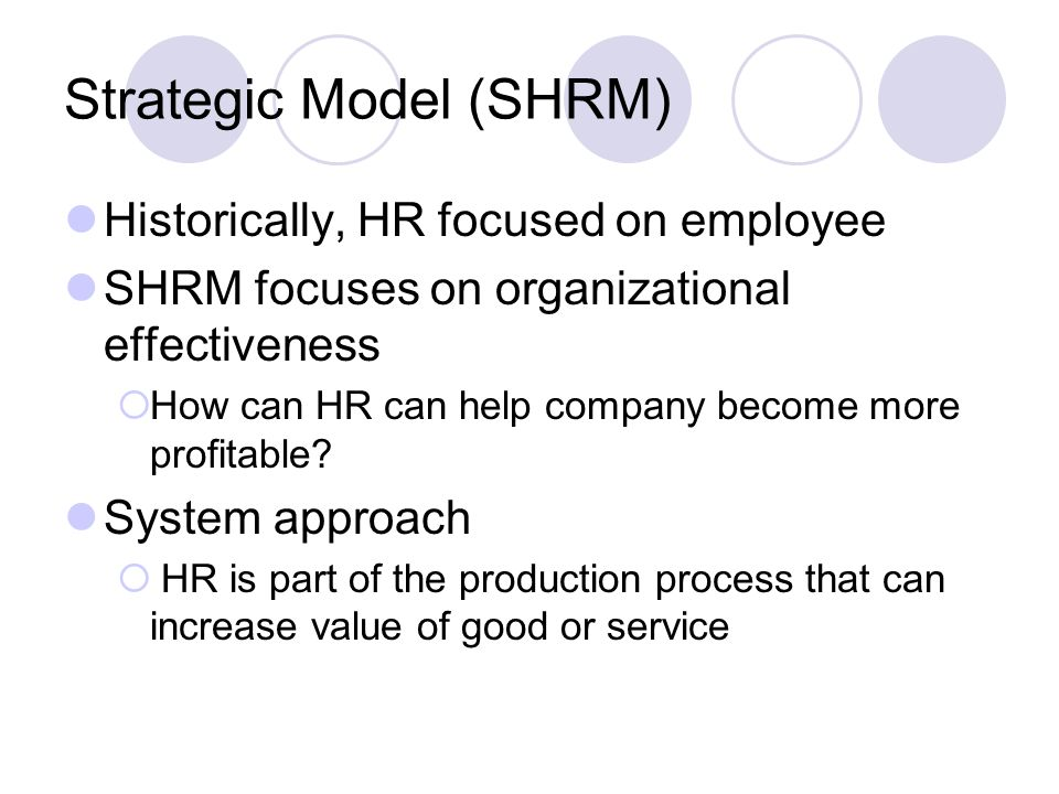 how to become hr of a company