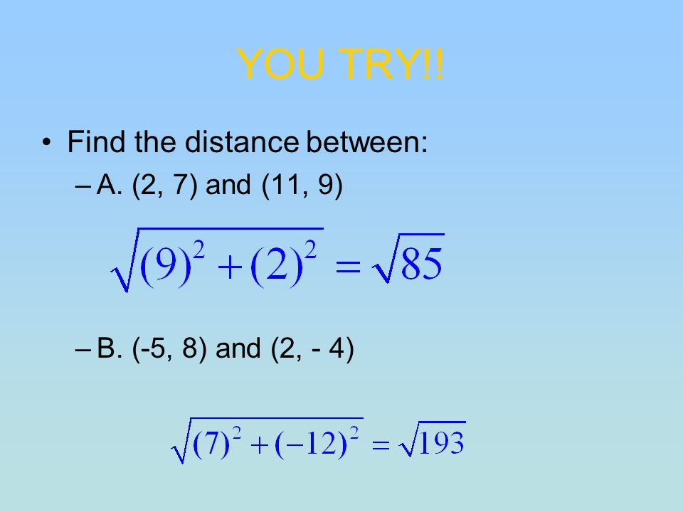 how to find the midpoint between two numbers