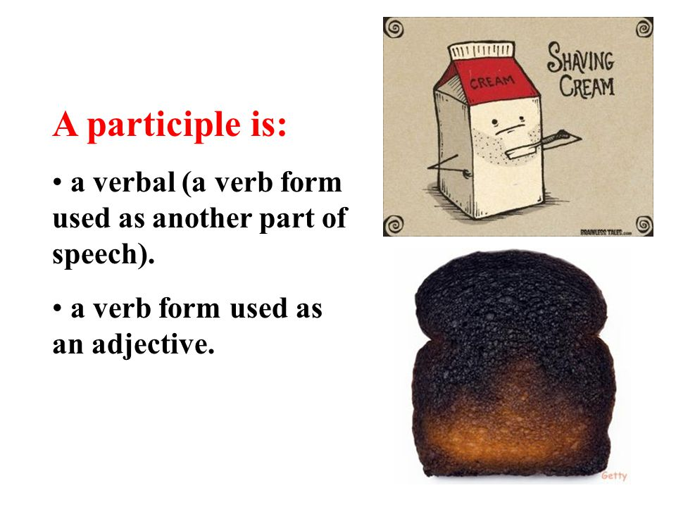 Present and Past Participles - ppt video online download