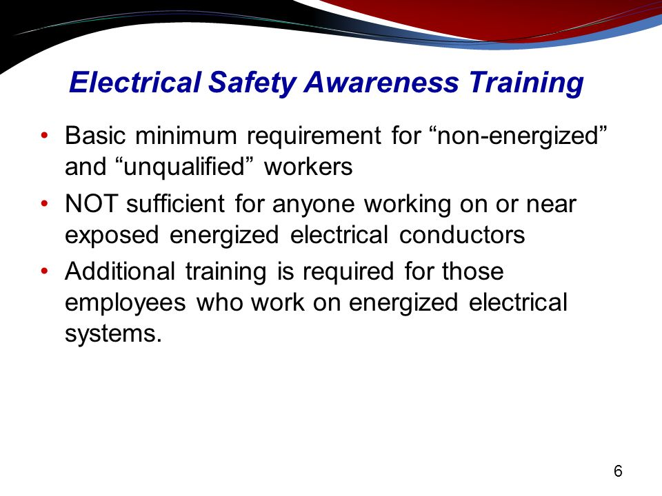 energized electrical work permit template - electrical hazard awareness training for non electrical