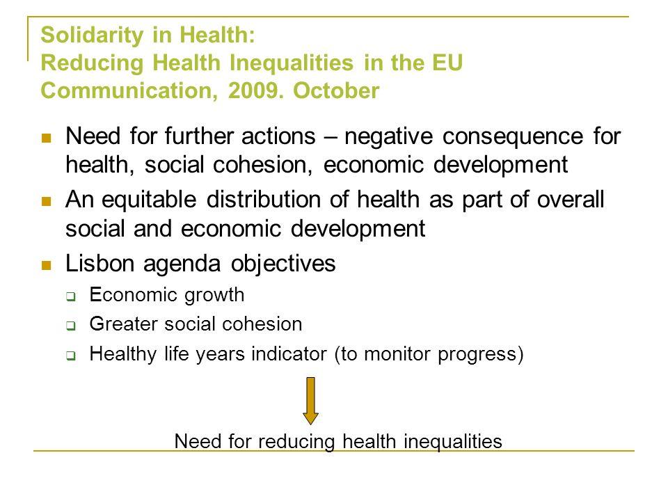 Lisbon agenda objectives