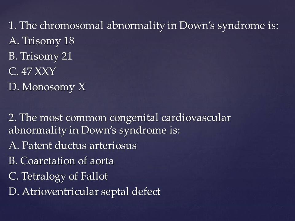 Noninvasive Down Syndrome Screening