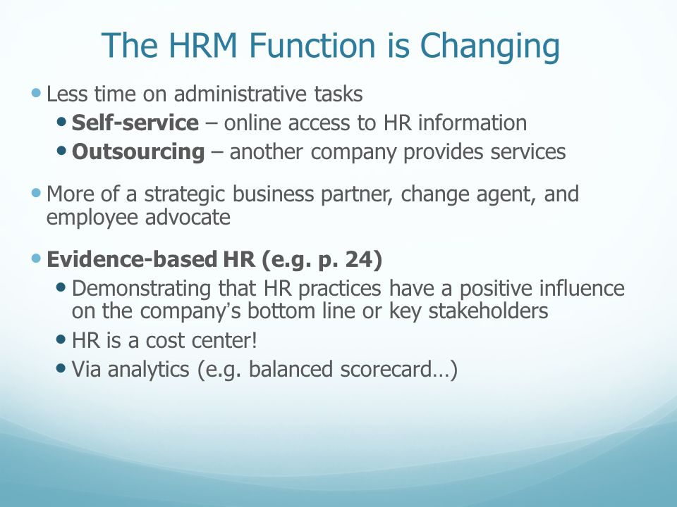 HR Issues in the Recession