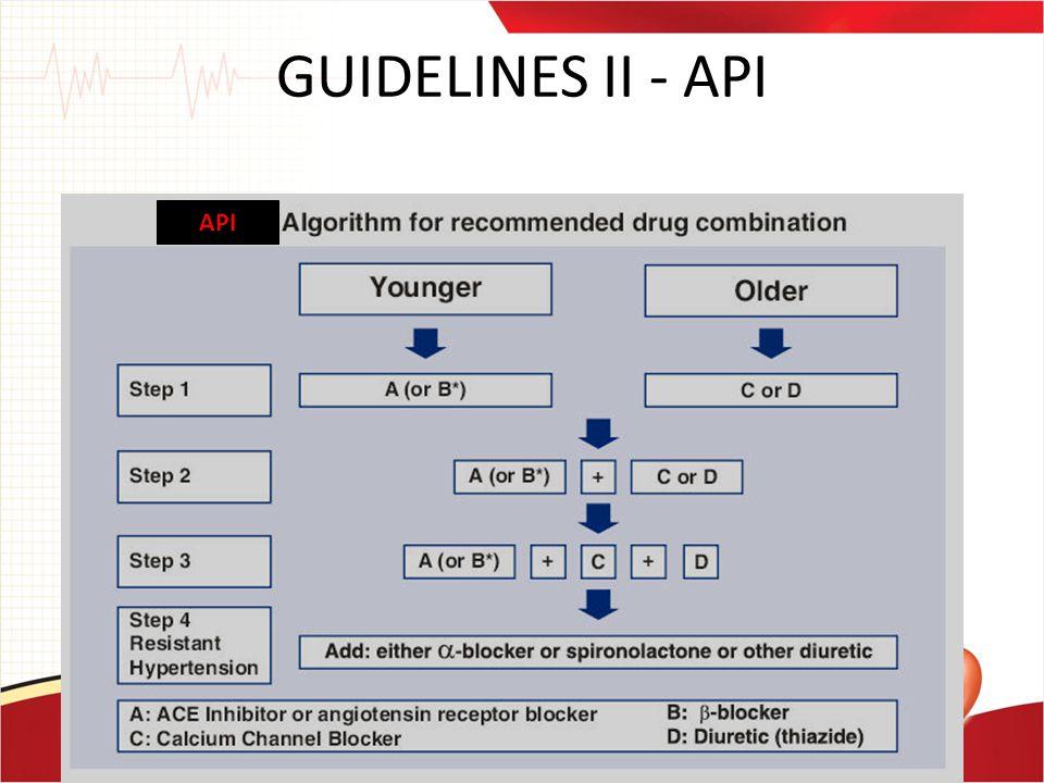 GUIDELINES II - API API