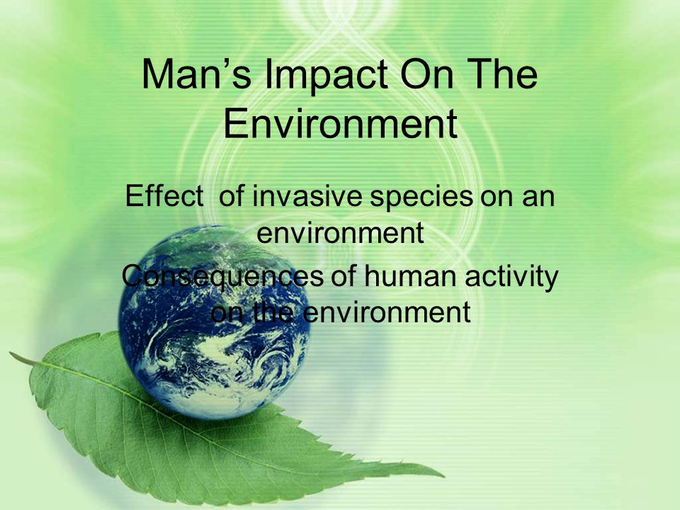 effects of invasive species on the