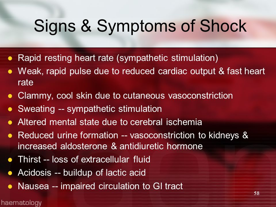 blood and introduction shock Anaphylactic shock is extremely serious it can block your airways and prevent you from breathing it can also stop your heart this is due to the decrease in blood pressure that prevents the.