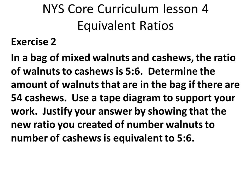 Math module 1 lesson 4 equivalent ratios ppt video online download 5 nys ccuart Gallery