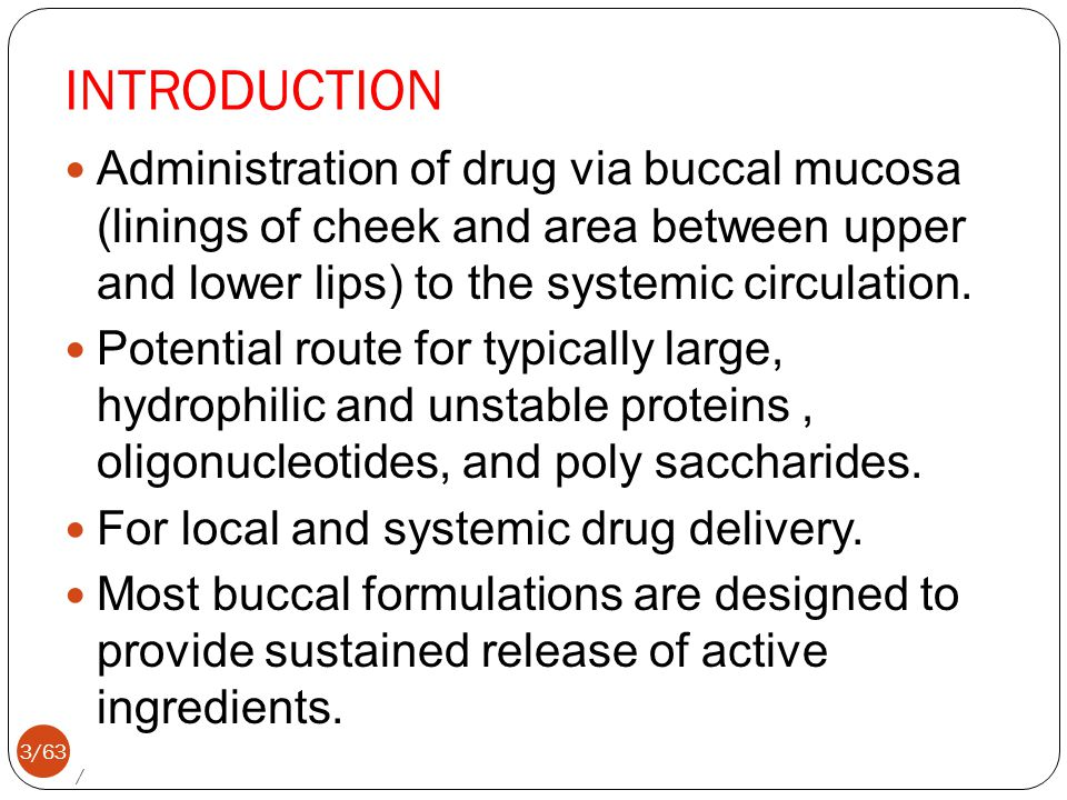 introduction of oral drug delivery system pdf