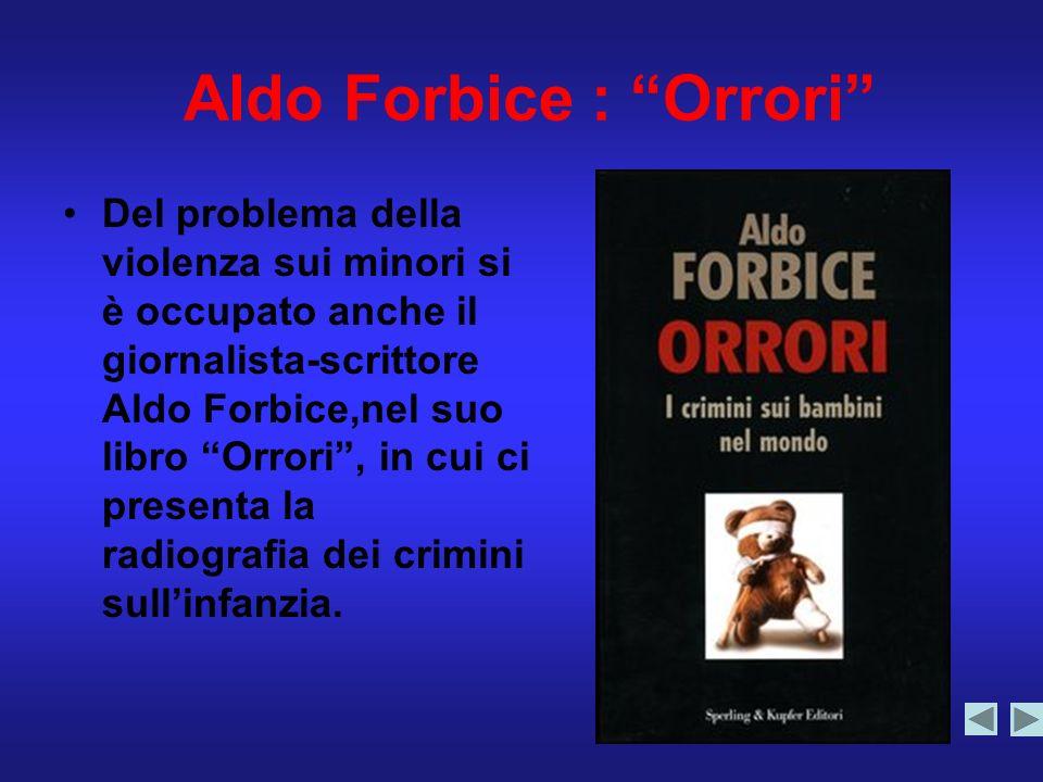 Aldo Forbice : Orrori