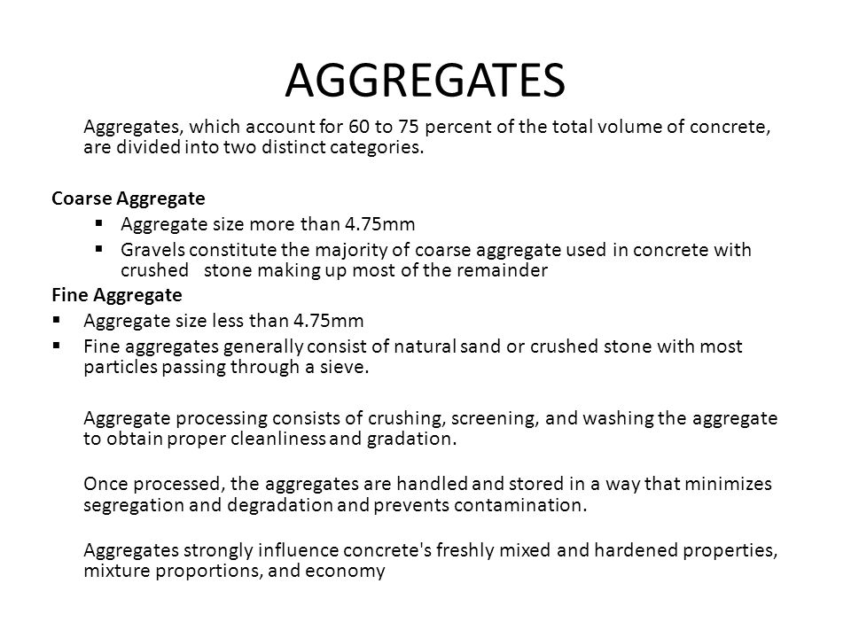 aggregate and its property Aggregate shape properties, such as form, angularity, and surface texture, highly influence the performance of hot-mix asphalt (hma) rutting is related to aggregate angularity and form, which affects the interlock among particles fatigue cracking can be decreased by an aggregate rough surface.
