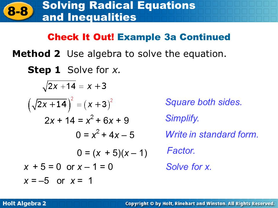 Dda Line Drawing Algorithm Solved Example : Remember for a square root the index of radical is