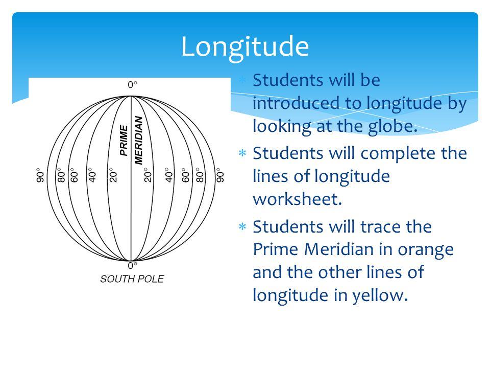 Earth Science If8755 Latitude And Longitude Worksheet on Laude And Longitude Worksheets Pdf