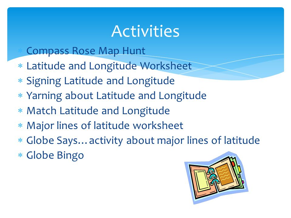 Longitude and Latitude ppt video online download – Compass Rose Worksheets