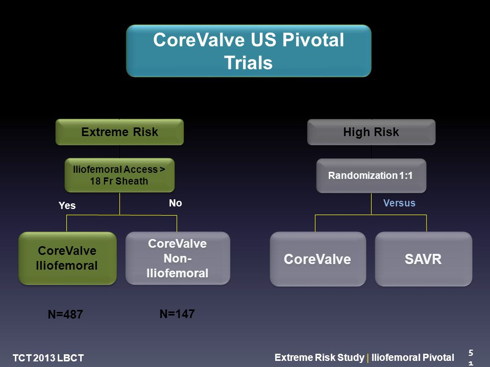 Safety and Efficacy Study of the Medtronic CoreValve ...