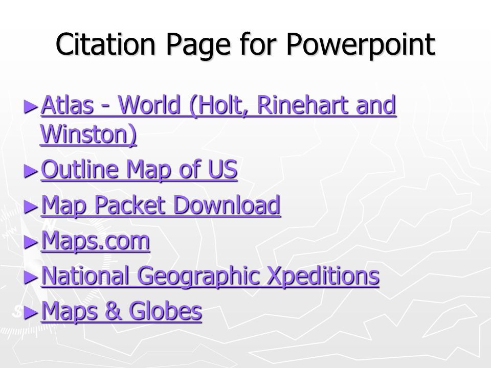 Map elements write on ppt video online download 19 citation page for powerpoint gumiabroncs Choice Image
