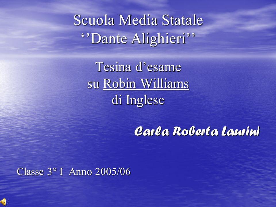 Scuola Media Statale ''Dante Alighieri'' Tesina d'esame