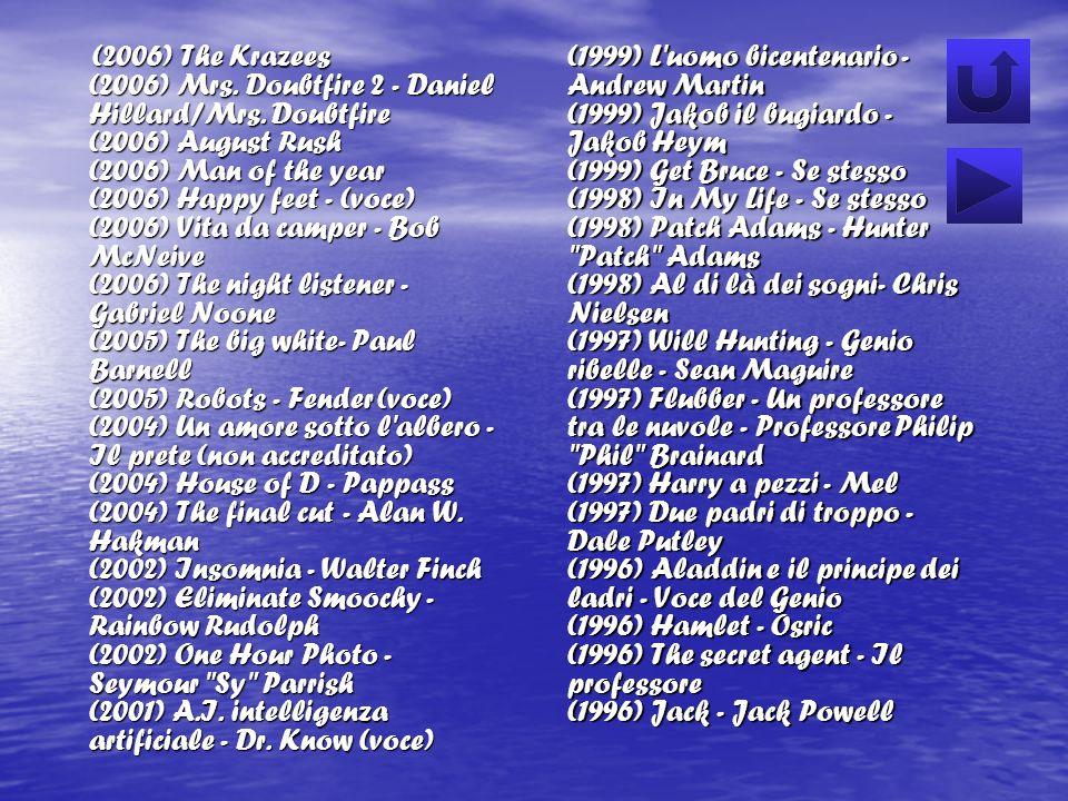 (2006) The Krazees (2006) Mrs. Doubtfire 2 - Daniel Hillard/Mrs