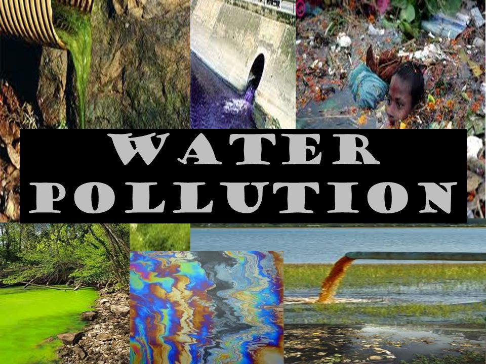 WATER POLLUTION. - ppt video online download