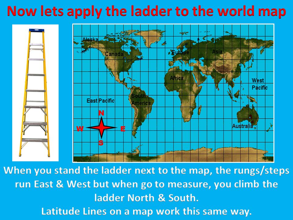 Now lets apply the ladder to the world map