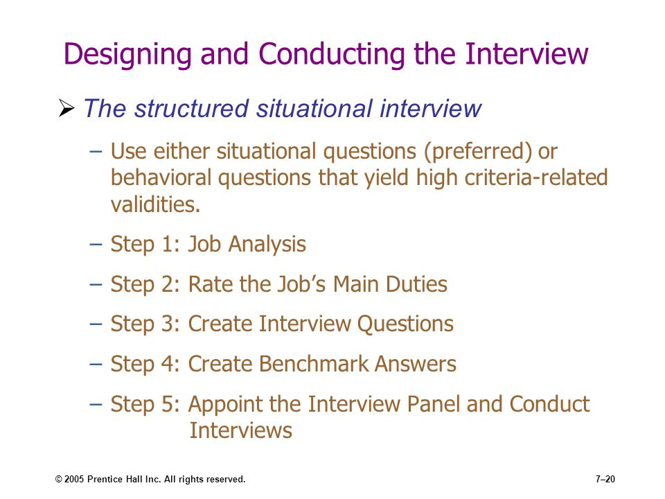 Designing and Conducting the Interview