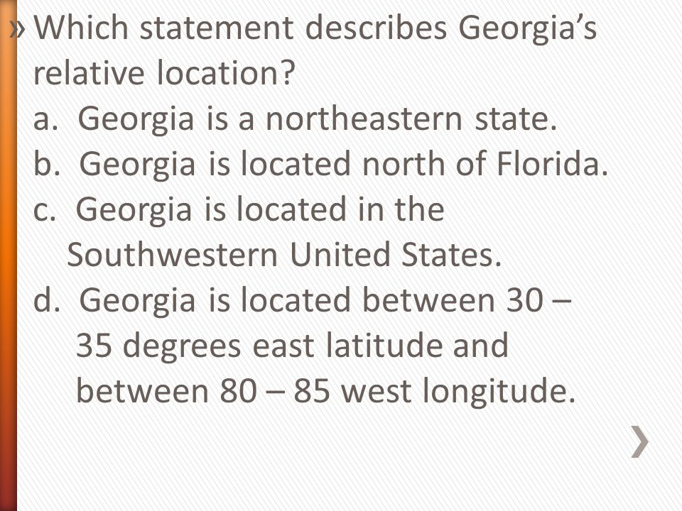 Review geography of georgia ppt video online download which statement describes georgias relative location sciox Choice Image