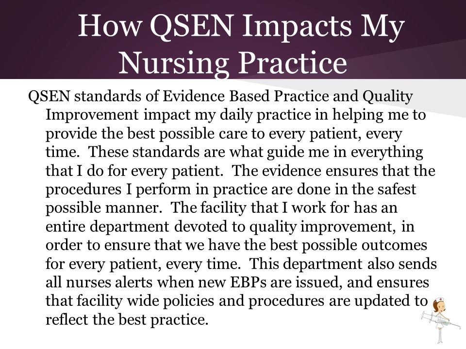 how the practice of nursing impacts Practice nursing in australia traditionally has been a means through which  nurses  of issues it believed impacted significantly on nursing in general  practice.