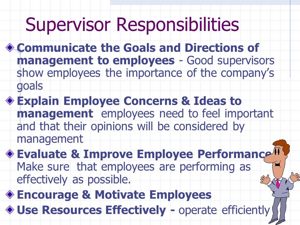 how to be a better supervisor