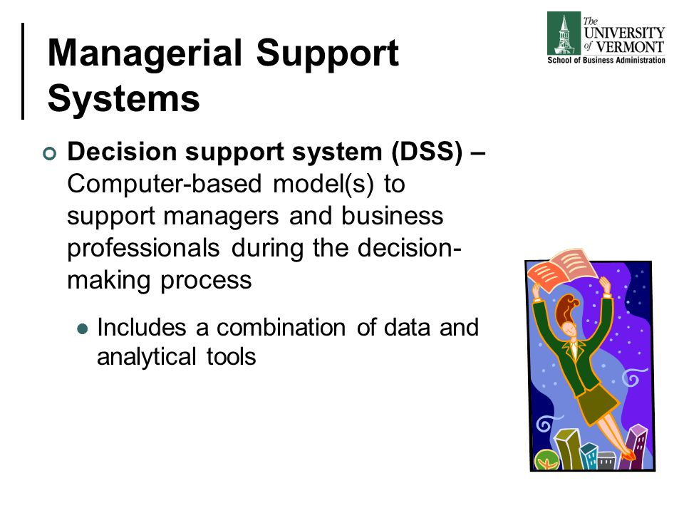 Managerial Support Systems