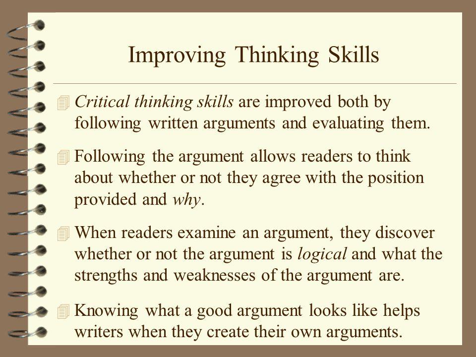 evaluating critical thinking skills