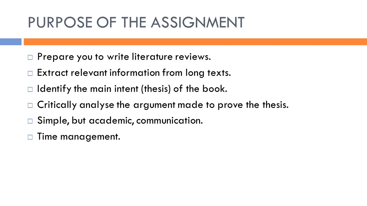 write thesis statement critical book review