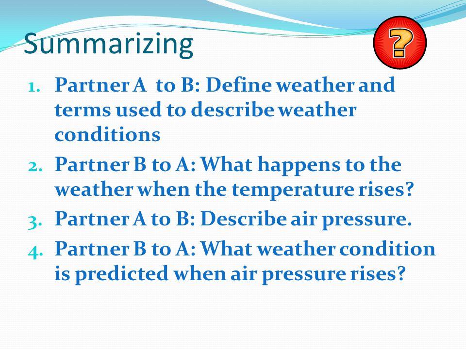 Science Focus Lesson SC.5.E.7.3 Weather - ppt video online download