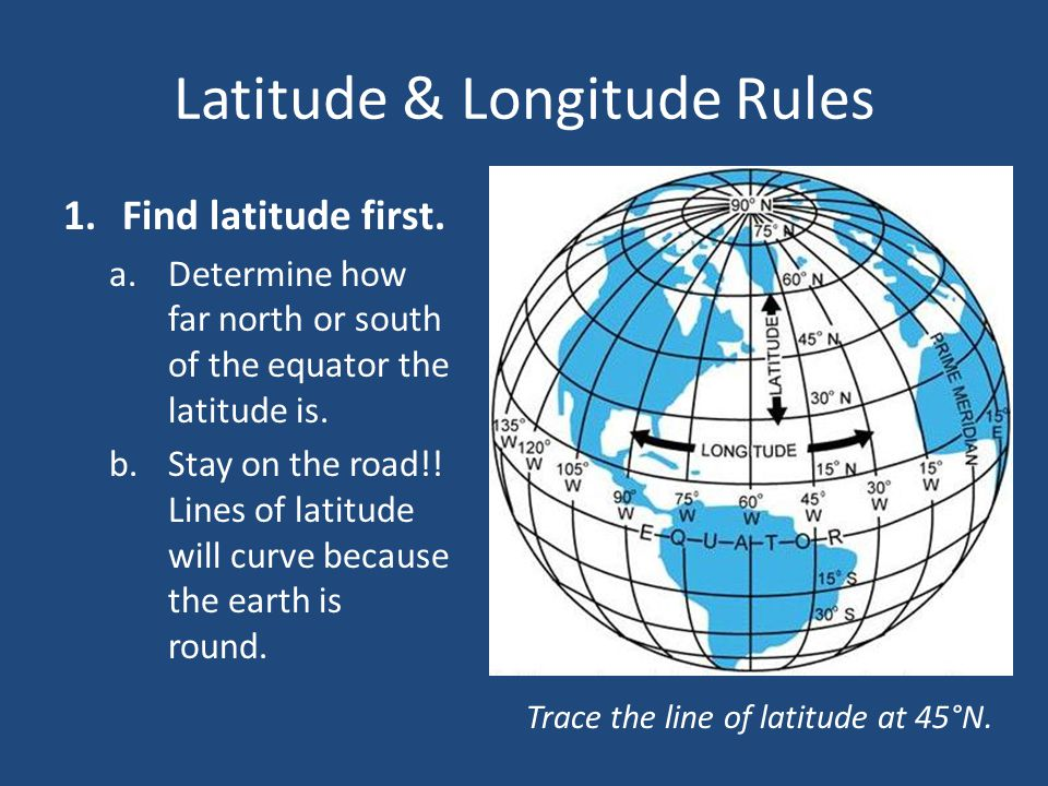how to find latitude and longitude on iphone