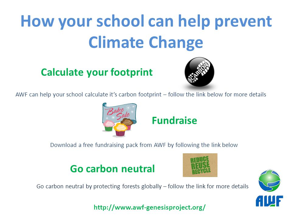 How your school can help prevent Climate Change